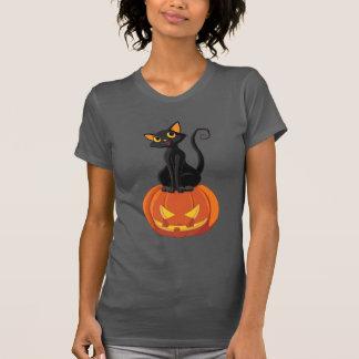 Gullig Halloween kattt-skjorta med katten och Tröja