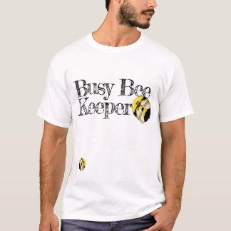 Gullig humla för rolig upptagen Beekeeper Tröjor