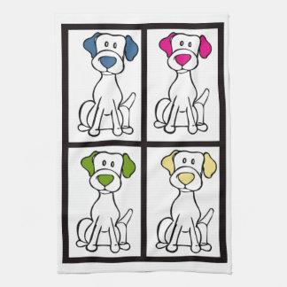 Gullig hund Dishtowel - Labrador Kökshandduk