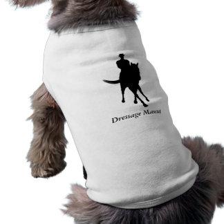 Gullig hund för Dressagemaskot Husdjurströja