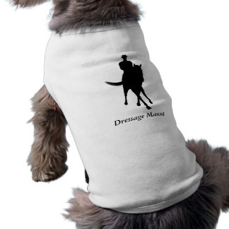 Gullig hund för Dressagemaskot Långärmad Hundtöja