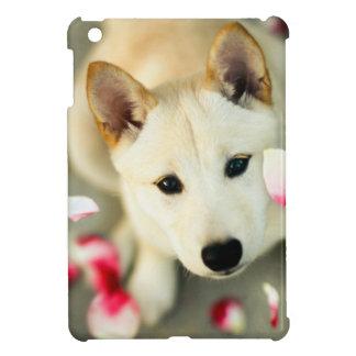 Gullig hund iPad mini mobil skal