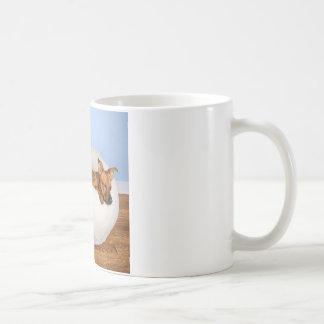 Gullig hund kaffemugg