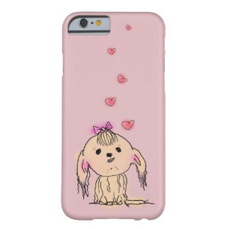 Gullig illustration för Shih Tzu hund Barely There iPhone 6 Skal