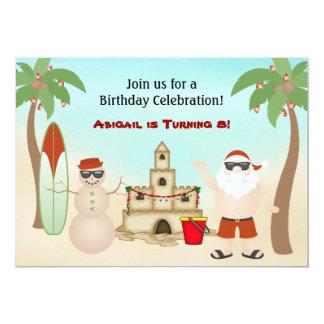 Gullig inbjudan för födelsedag för