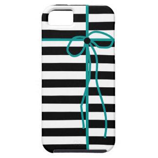 GULLIG IPHONE5 CASE-STRIPES OCH PILBÅGE TOUGH iPhone 5 FODRAL