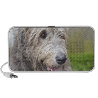 Gullig irländsk Wolfhound Högtalare Att Ta Med Sig