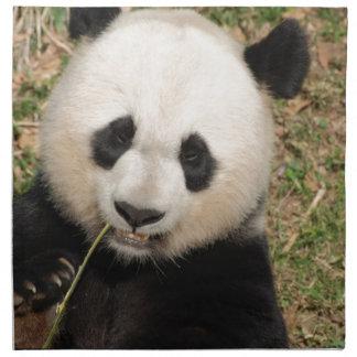 Gullig jätte- Pandabjörn Tygservett