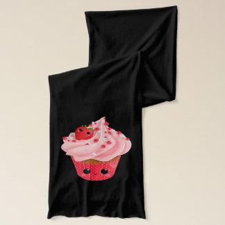 Gullig jordgubbemuffin sjal