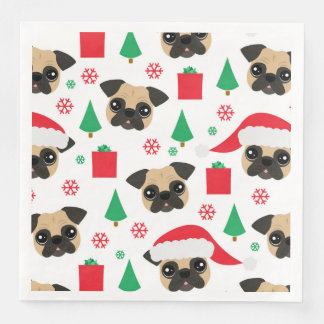Gullig julmops papper servetter