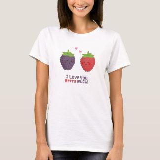 Gullig kärlek dig bär mycket vitshumor tröjor