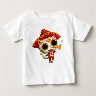 Gullig katt för mexicansk El-mariachi Tee Shirt