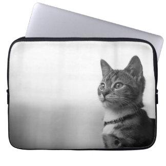 Gullig katt laptop fodral
