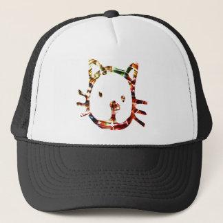 Gullig katt V3 Keps