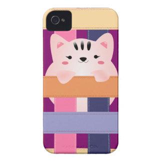 Gullig kattungeblackberry bold 9700/9780 knappt Case-Mate iPhone 4 skydd