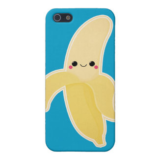 Gullig Kawaii banan iPhone 5 Hud