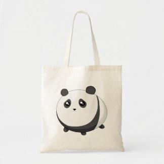 Gullig Kawaii knubbig pandabjörn Tygkasse