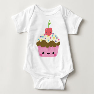 Gullig Kawaii muffin T-shirts