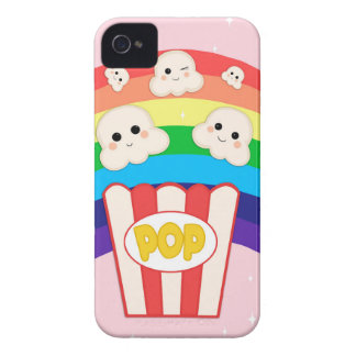 Gullig Kawaii Popcorn iPhone 4 Case-Mate Skal