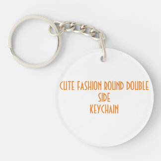 Gullig keychain för sida för moderundadubbla