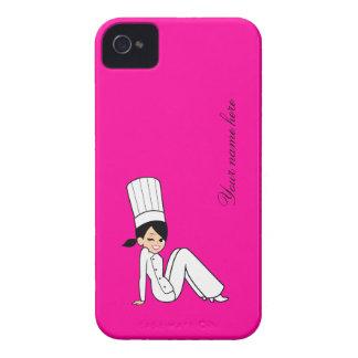 Gullig kockblackberry fodral Case-Mate iPhone 4 fodral