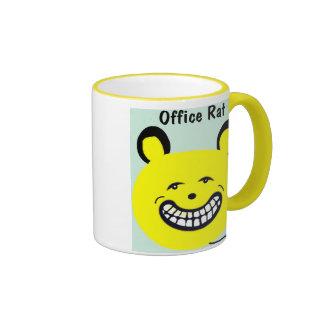 Gullig kontorskaffemugg som något att ringer mugg