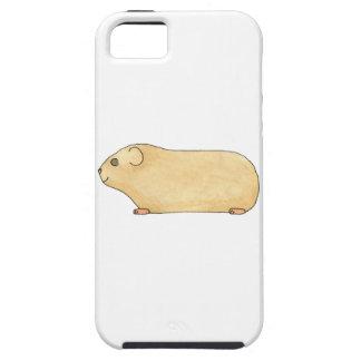 Gullig kräm- Guinea Pig. Tough iPhone 5 Fodral