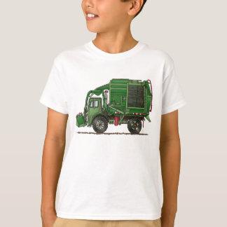 Gullig lastbil för soporlastbilsopor tröjor