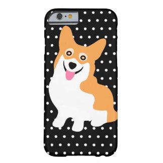 Gullig le walesisk Corgivalp för Pembroke Barely There iPhone 6 Skal
