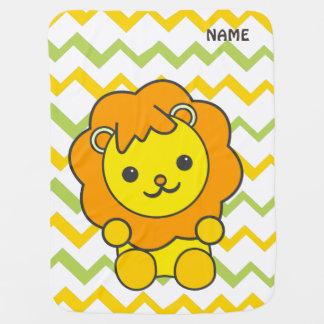 gullig lejon babyfilt
