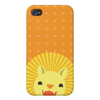 gullig lejon pride ler Kawaii iPhone 4 Cover