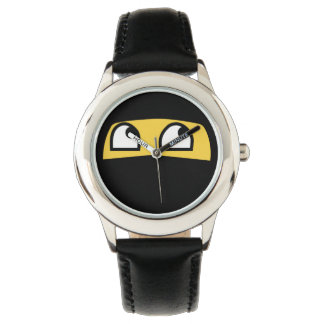 Gullig lilninjaemoji armbandsur