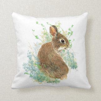 Gullig lite konst för djur för dekorativ kudde