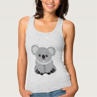 Gullig livlig Koalabjörntanktop Tshirts