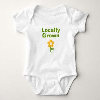 Gullig lokalt fullvuxen skjorta för babyar och t-shirts