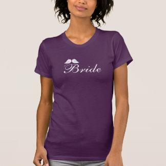 Gullig love birdsbrud t shirt