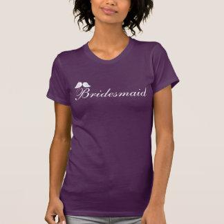Gullig love birdsbrudtärna tshirts
