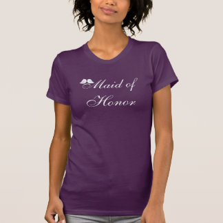 Gullig love birdsmaid of honort-skjorta tshirts