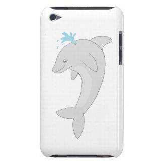 Gullig lycklig delfin iPod touch skal