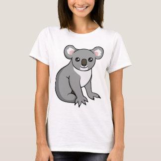 Gullig lycklig T-tröja för grå färgKoalateckning T-shirt