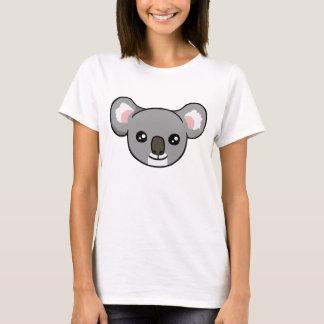 Gullig lycklig T-tröja för teckning för grå Tshirts