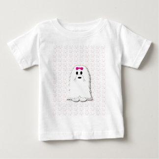 Gullig maltesisk valptecknad t-shirts