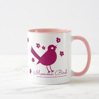 Gullig Momma fågel Mugg