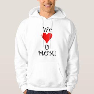 Gullig mors dagskjorta hoodie