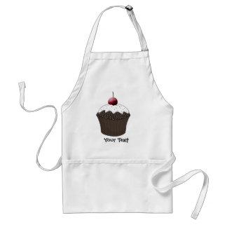 Gullig muffins förkläde