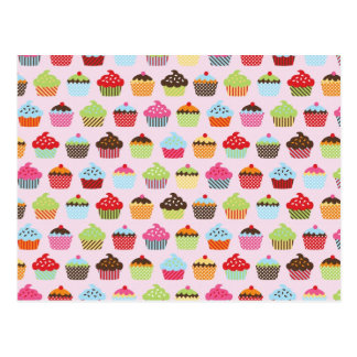 Gullig muffins vykort