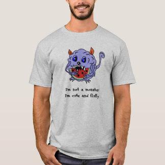 Gullig och fluffig Toothy gigantisk skjorta T Shirt