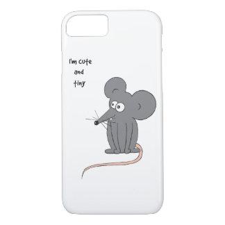 Gullig och mycket liten mus