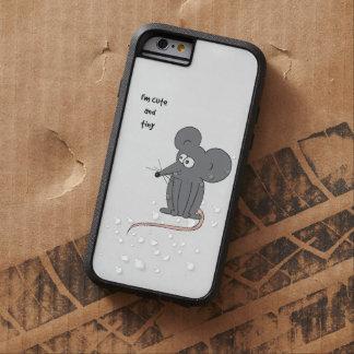 Gullig och mycket liten mus tough xtreme iPhone 6 fodral