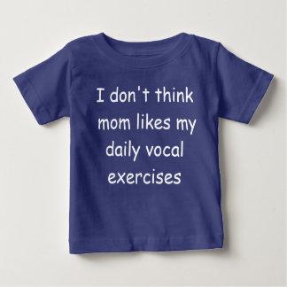 Gullig och rolig bebist-skjorta t-shirts